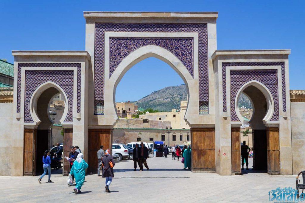 Bab Rcif em Fez no Marrocos