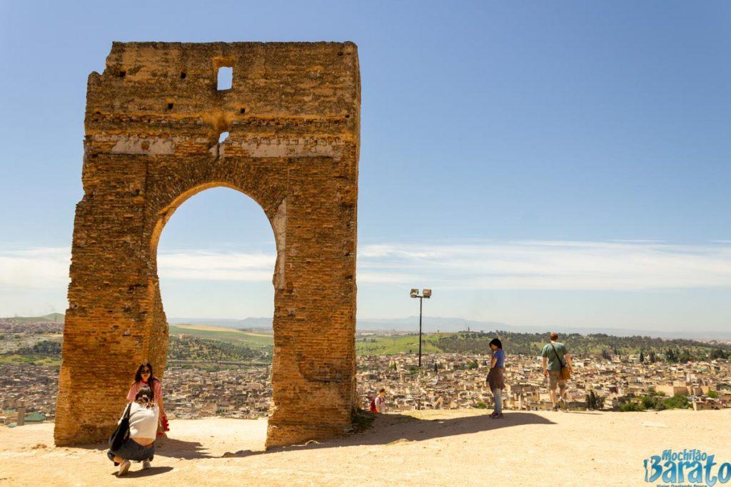 Tombe dei Merenidi em Fez no Marrocos