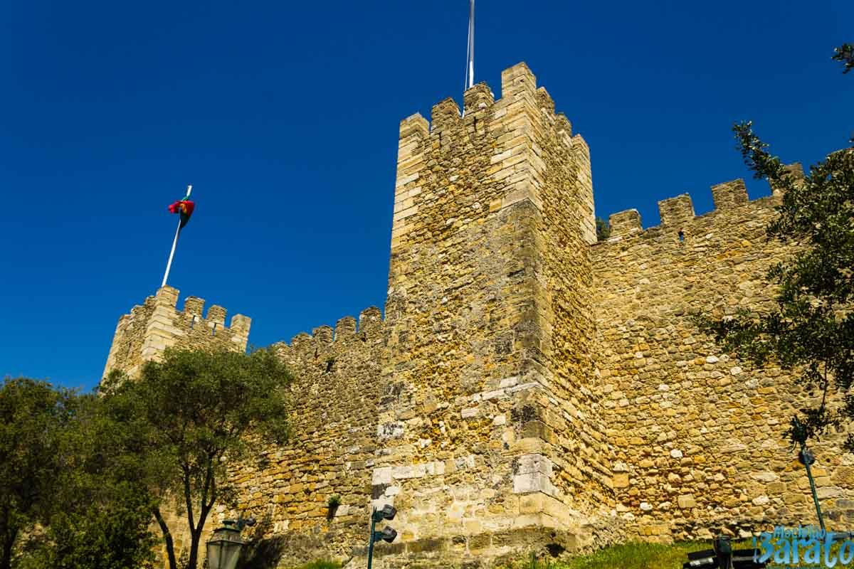 Castelo de Lisboa.