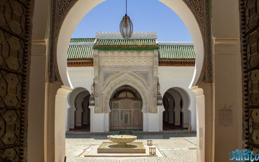 Mesquita Kairaouine em Fes
