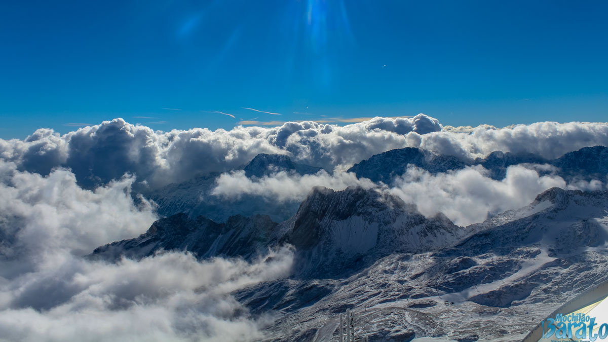 topo do Zugspitze
