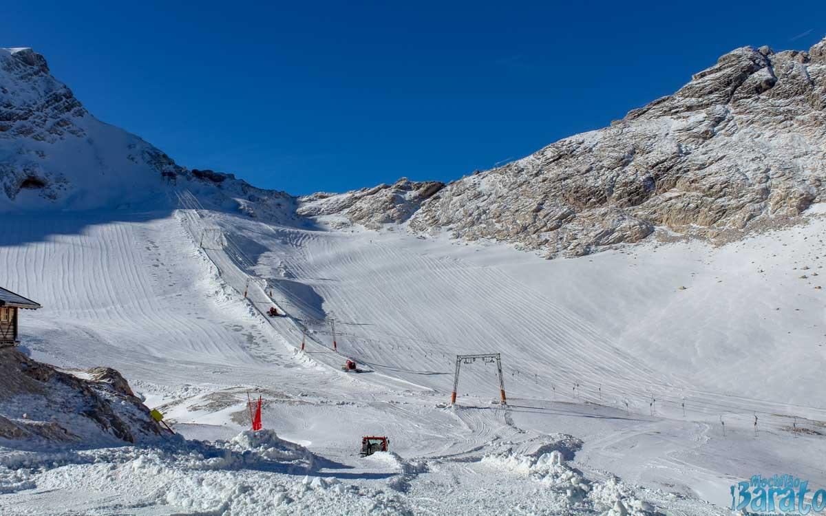 Pista de Esqui Zugspitze