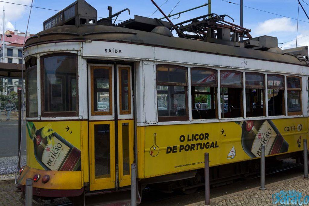 Transporte público em Lisboa: Eléctrico 28