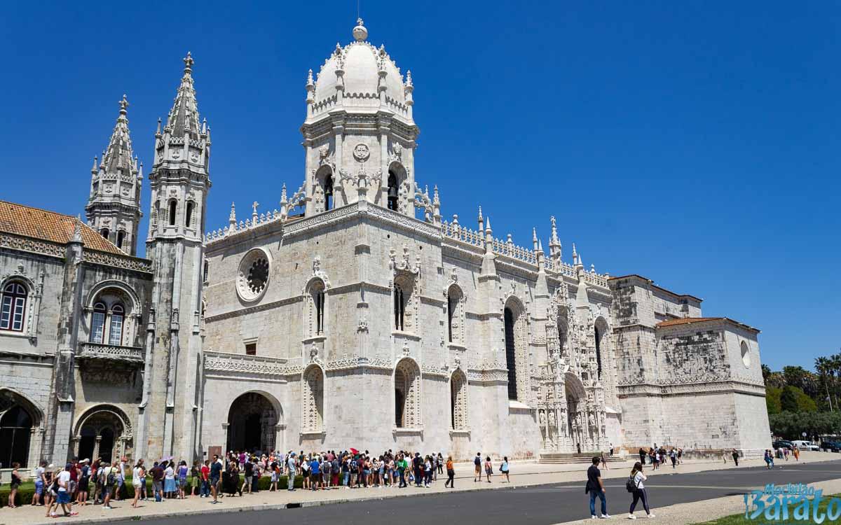 Mosteiro dos Jerônimos em Belém