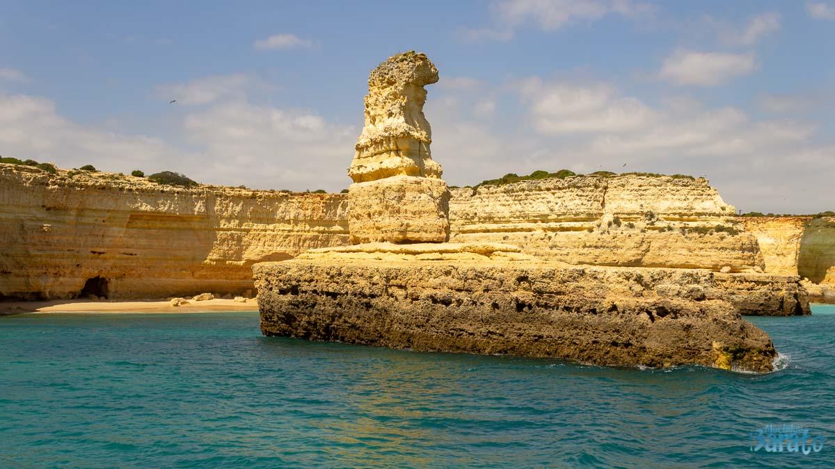 Praia da Morena no Algarve