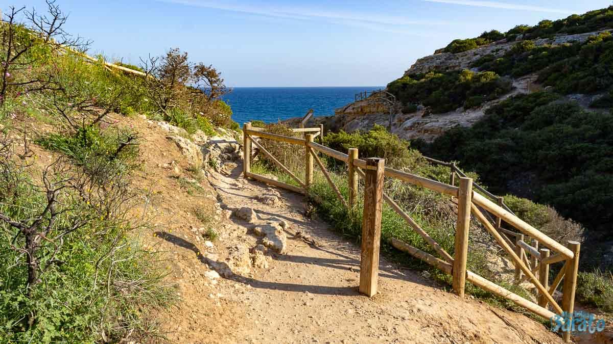 Trilha dos sete vales Algarve