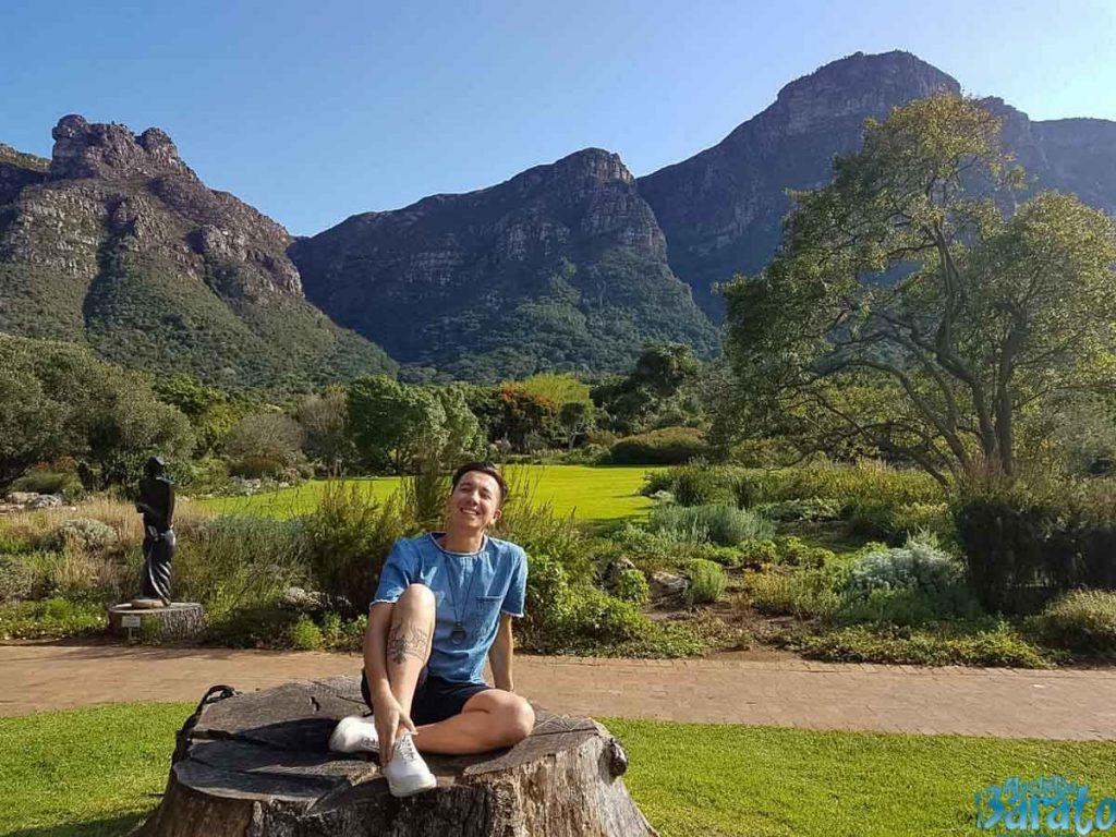 Jardim Botânico na Cidade do Cabo