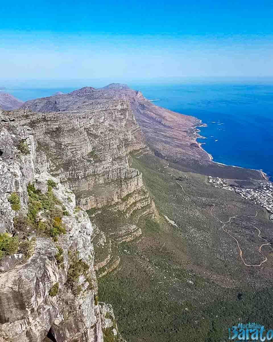 Table Mountain, Cidade do Cabo.