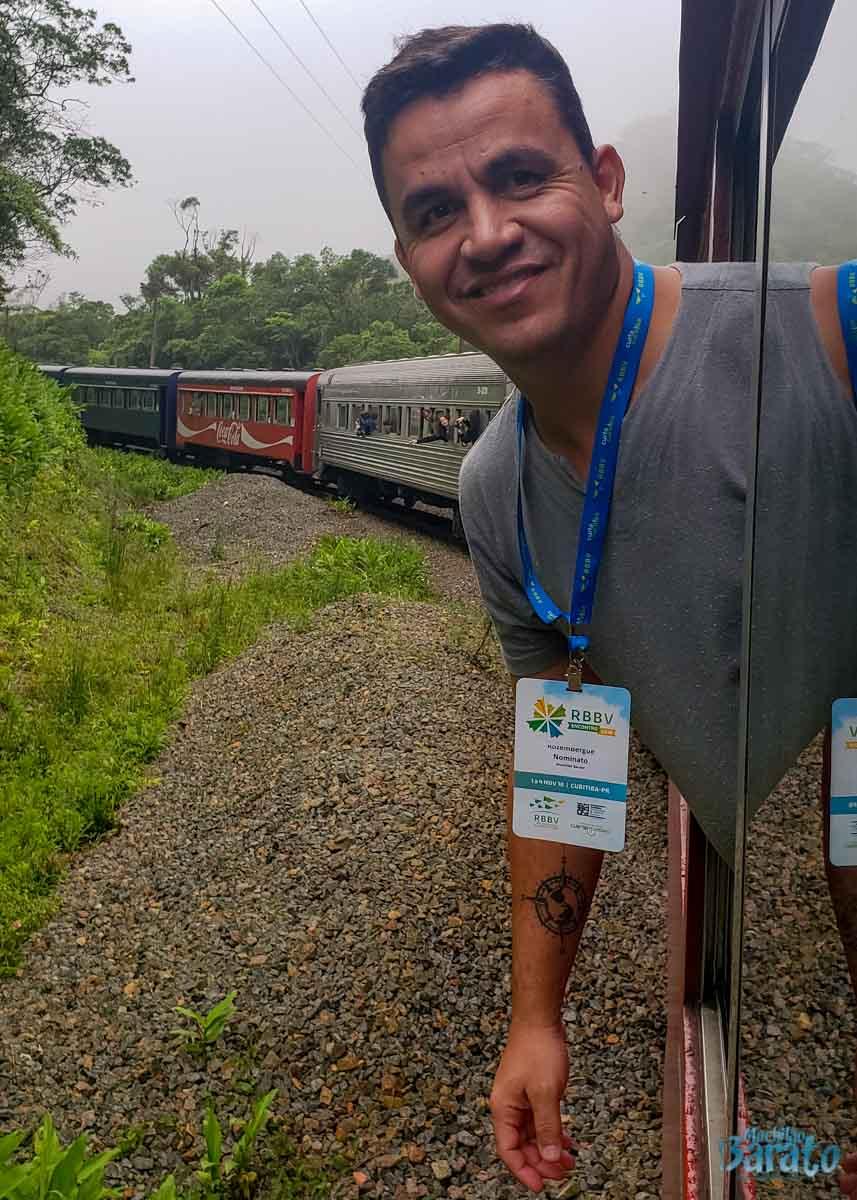 Trem Curitiba x Morretes