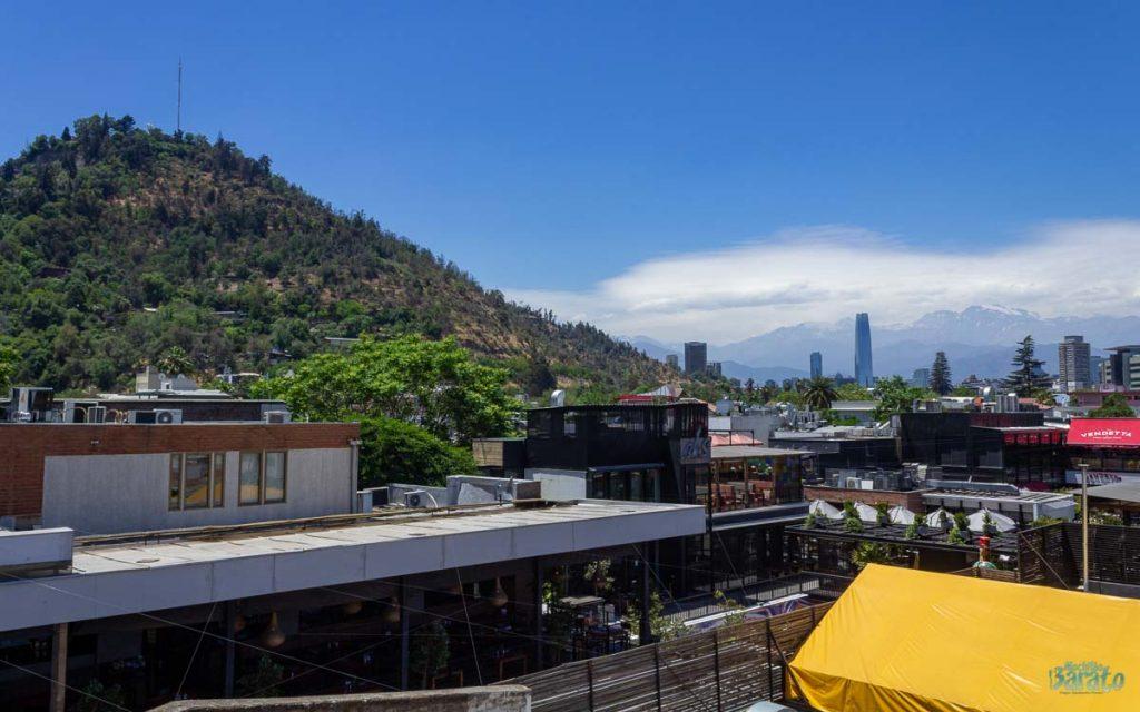 Hospedagem barata em Santiago