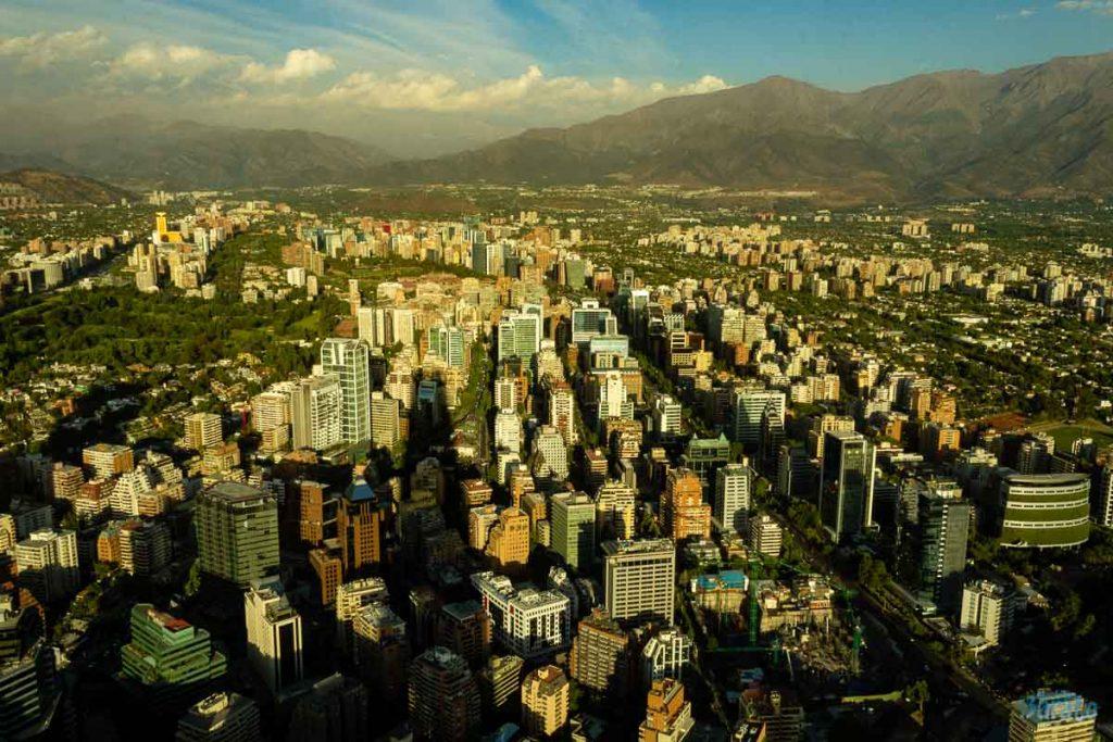 Sky Costanera em Santiago