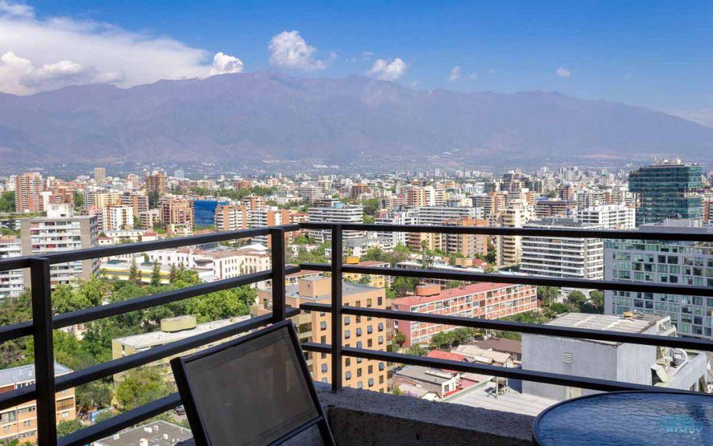 Hospedagem em apartamento em Santiago