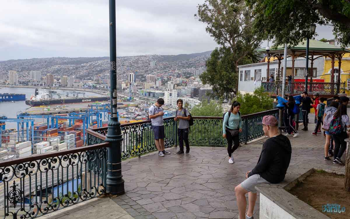Paseo 21 de Mayo em Valparaíso
