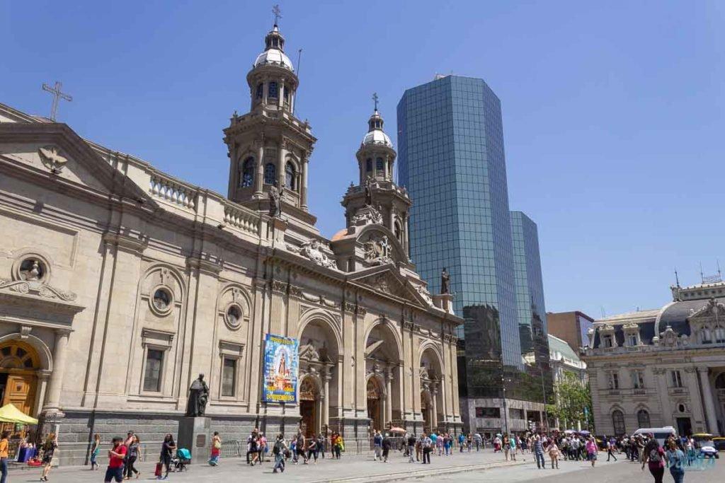 Plaza de Armas Santiago do Chile