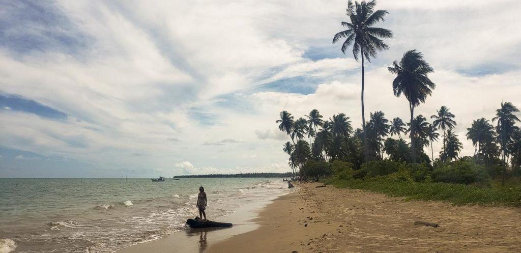 Praia Ponta do Mangue em Maragogi