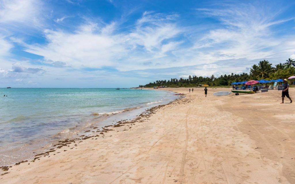 Praia Xareu em Maragogi