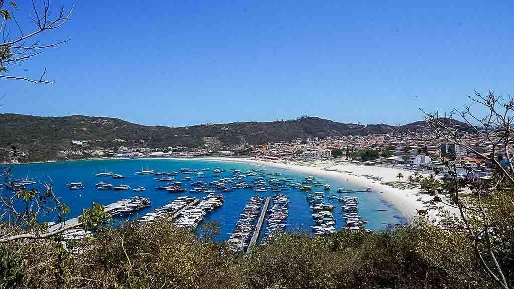 Praia dos Anjos em Arraial do Cabo