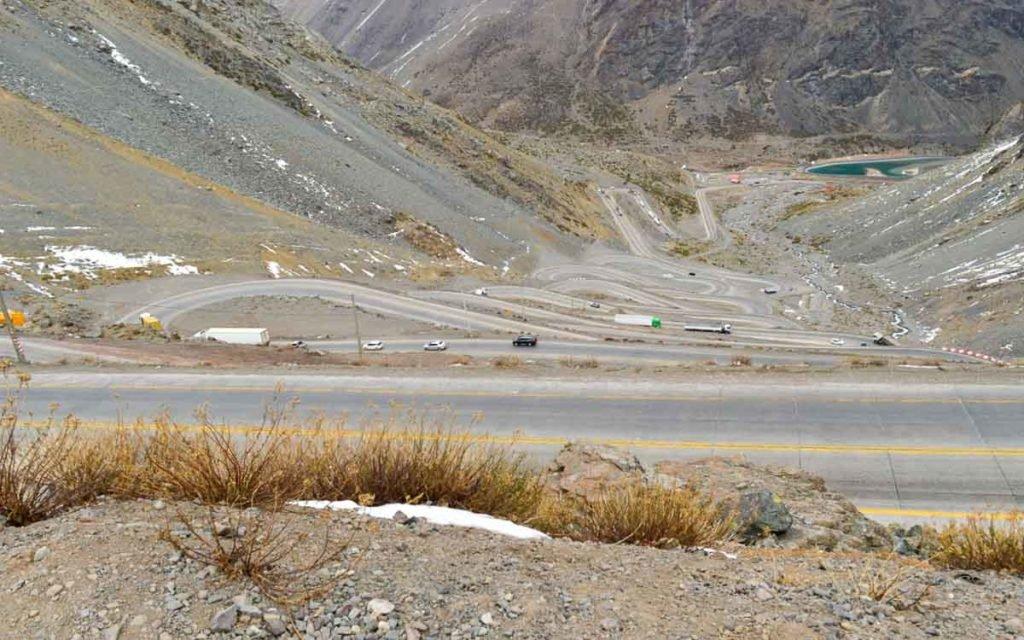 Estrada de Los Caracoles Chile
