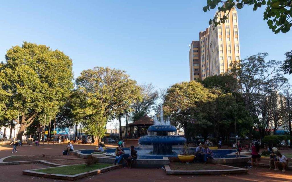 Praça Ary Coelho em Campo Grande