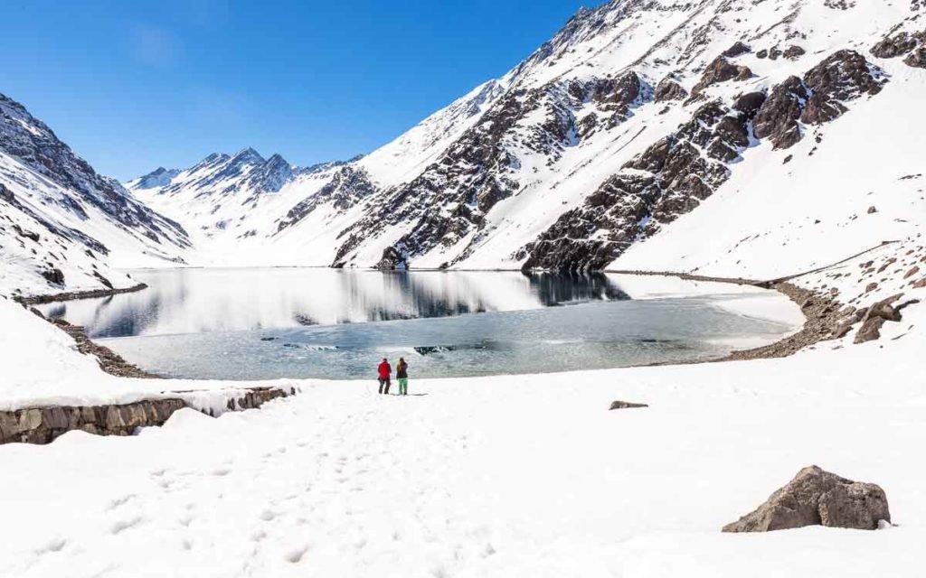Laguna del Inca Portillo Chile