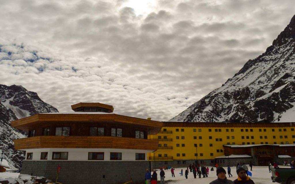 Estação de Esqui Portillo no Chile