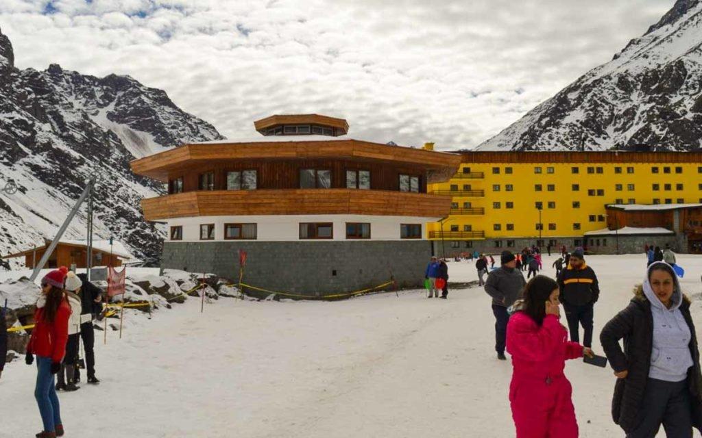 Ski Portillo no Chile