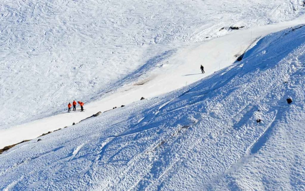 Valle Nevado no Chile.
