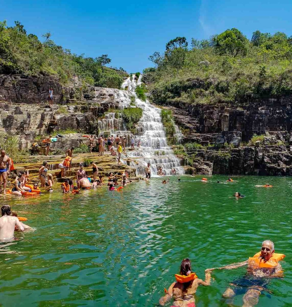 Cachoeira Lagoa Azul em Capitólio