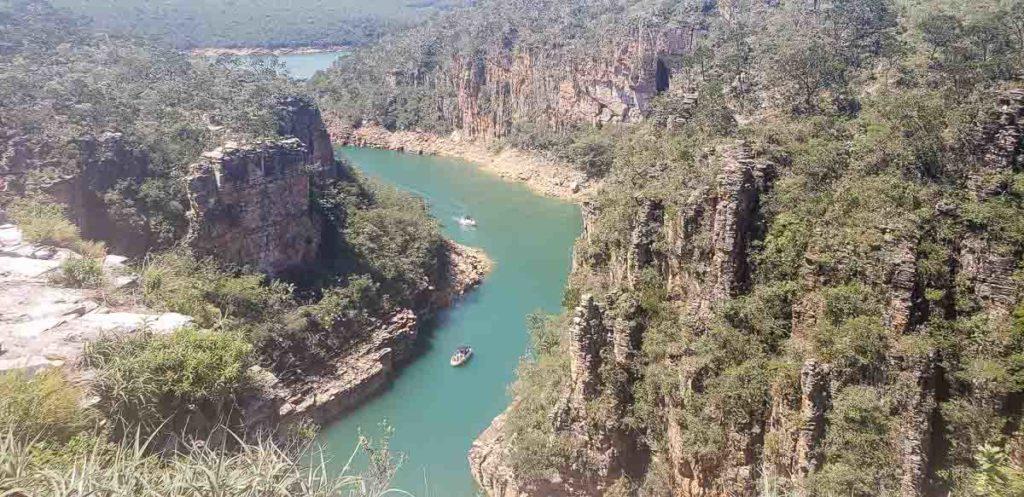 Mirante dos Canyons em Capitólio