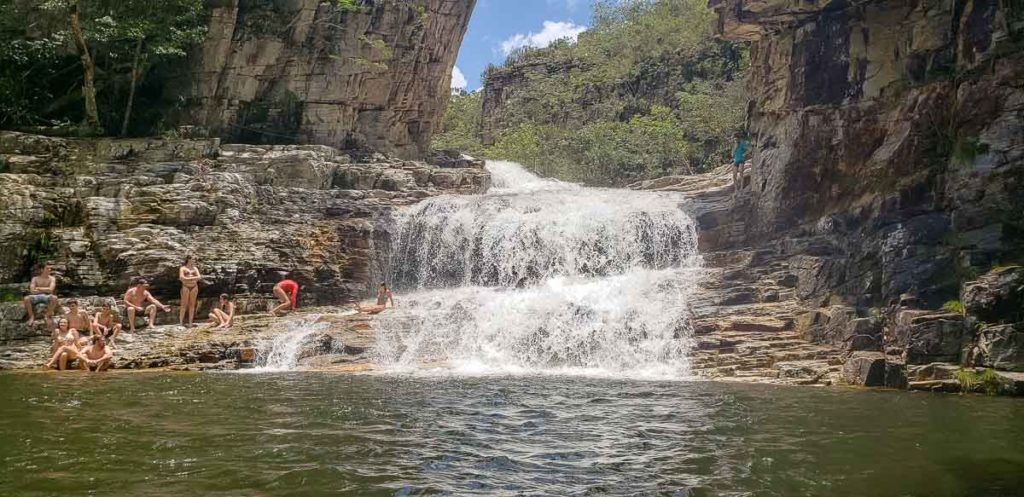 Cachoeira no Paraíso Perdido em Capitólio