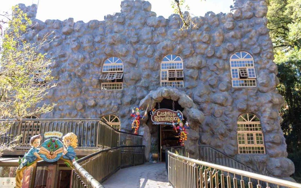 Castelo do Parque Terra Mágica Florybal