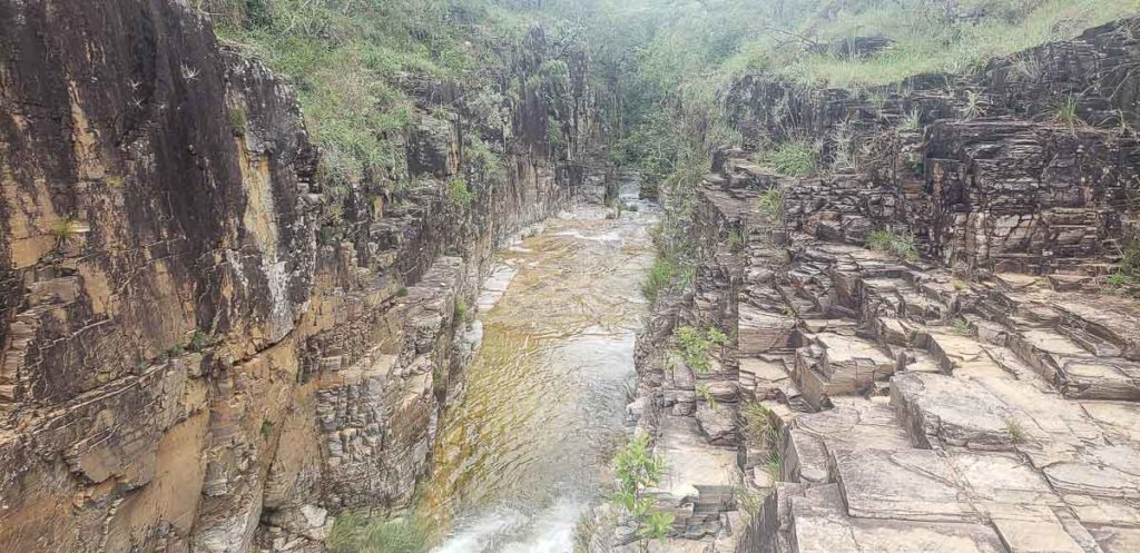 Cachoeira no Limite na Trilha do Sol
