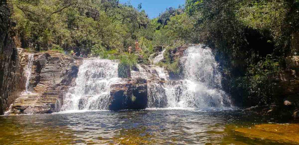 Cachoeira do Grito na Trilha do Sol
