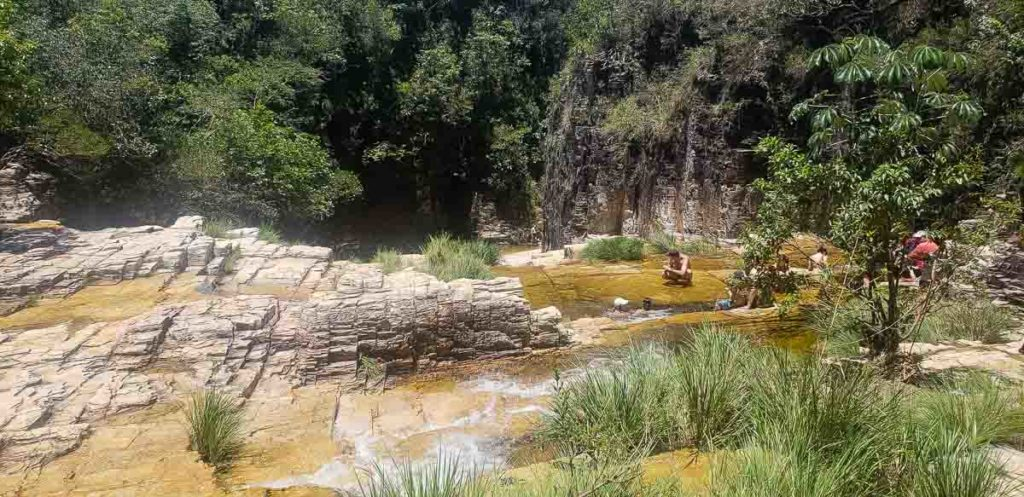 Cachoeira do Grito em Capitólio