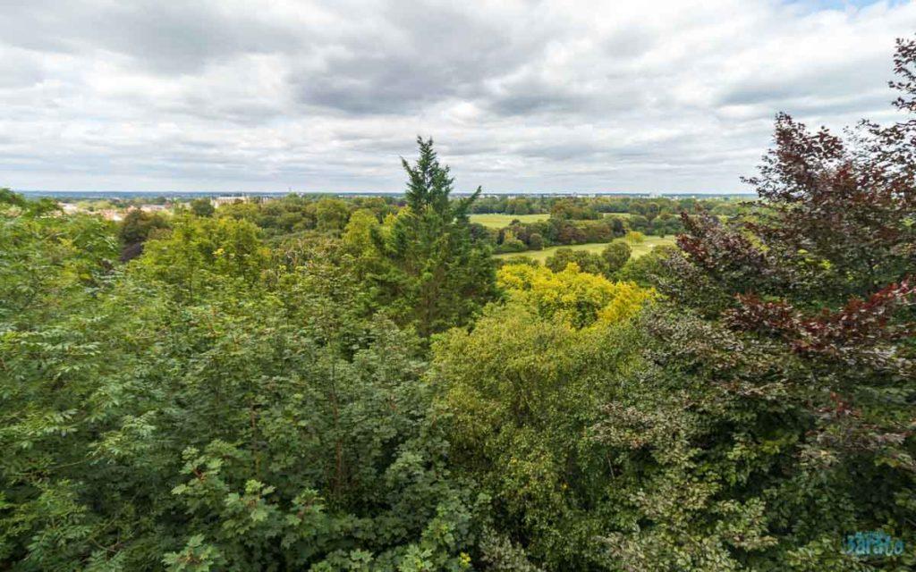 Vista do Terraço Norte do Castelo de Windsor