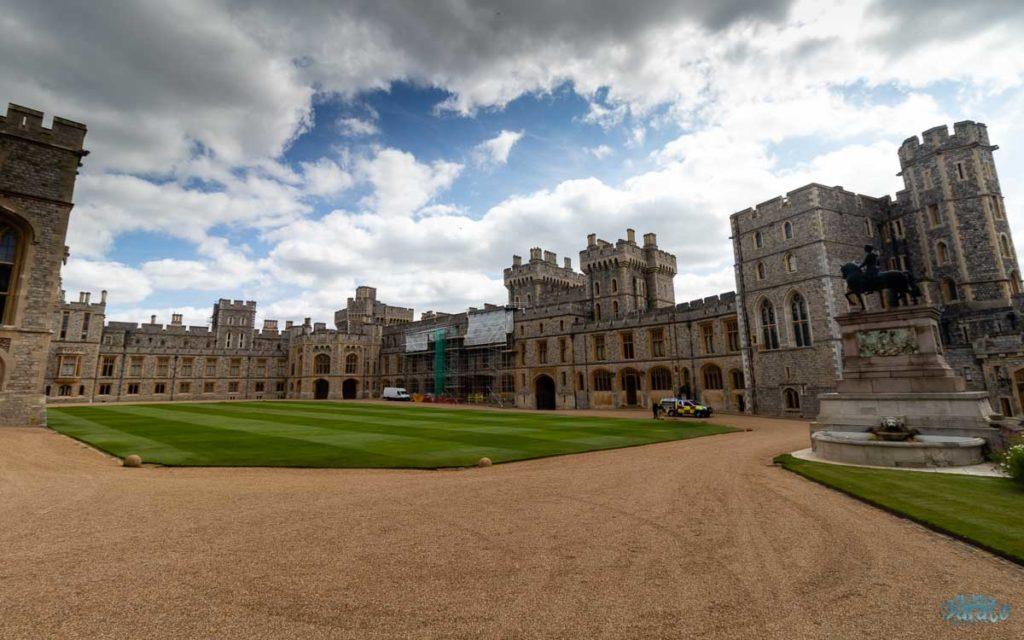 Pátio interno do Castelo de Windsor