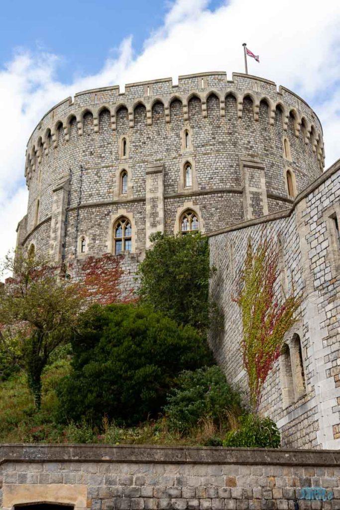 Torre redonda do Castelo de Windsor
