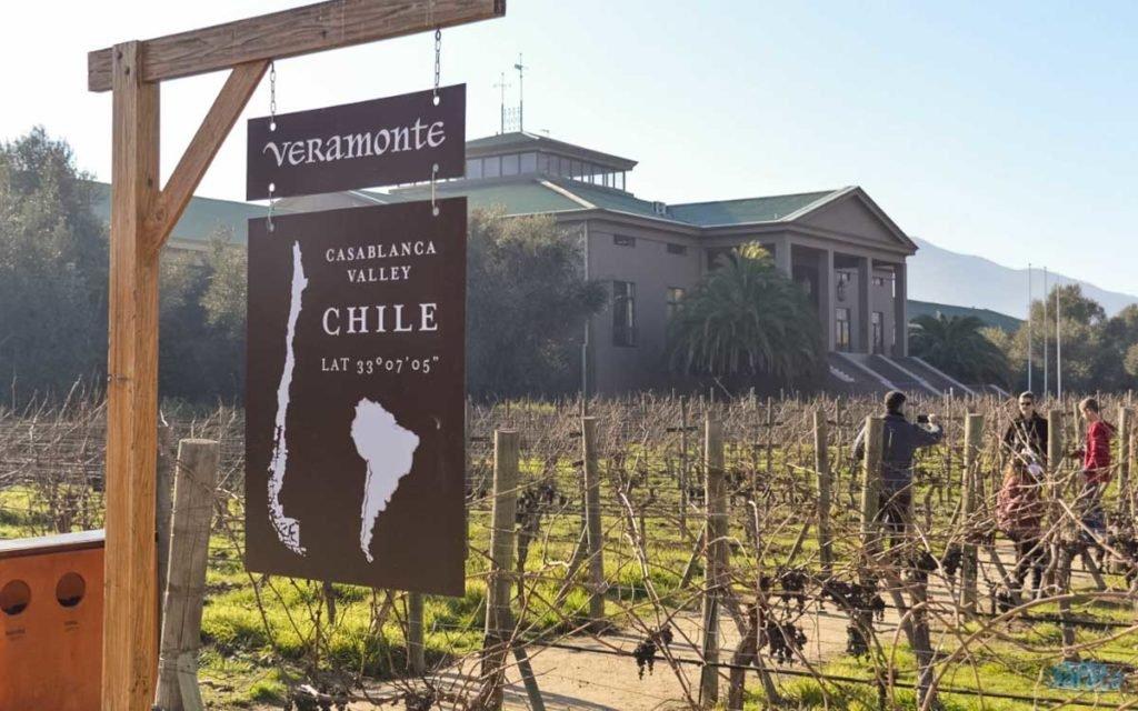 Vinícola Veramonte no Chile