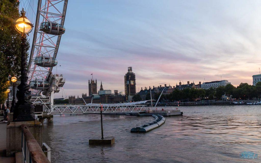 Waterloo Pier em Londres