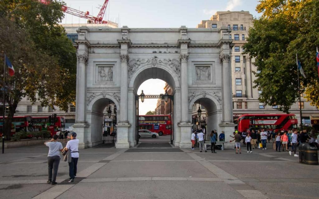 Marble Arch em Londres.