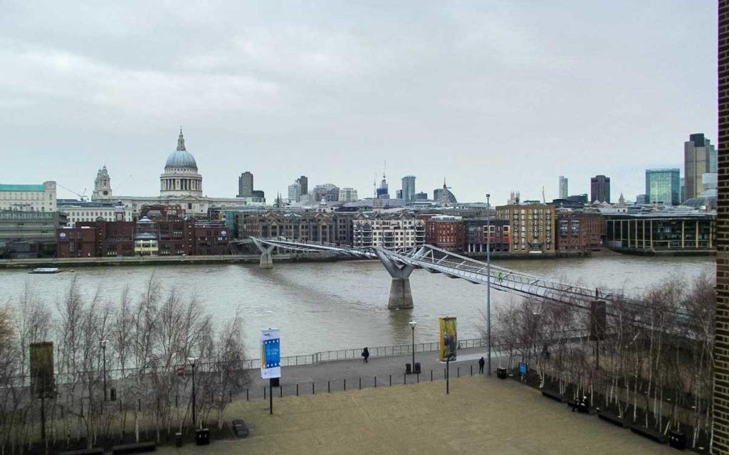 Ponte do Milênio em Londres