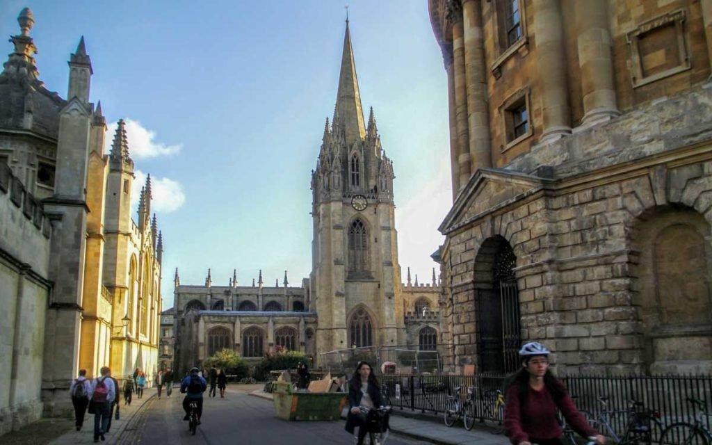Oxford na Inglaterra