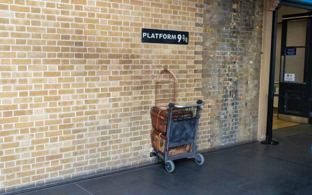Plataforma 9 ¾ em Londres