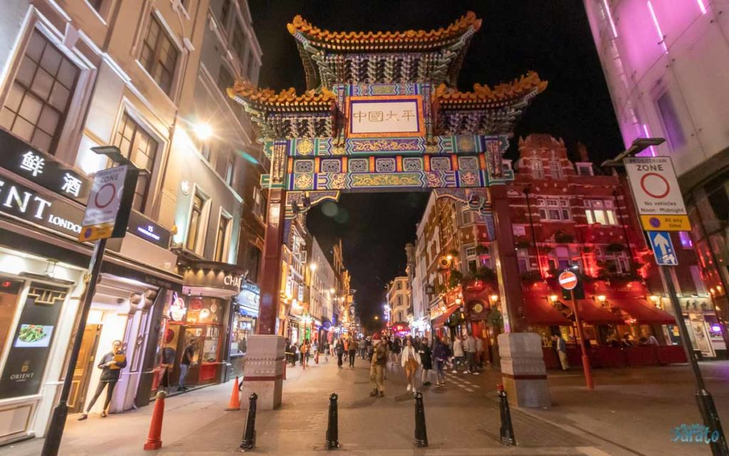 China Town em Londres