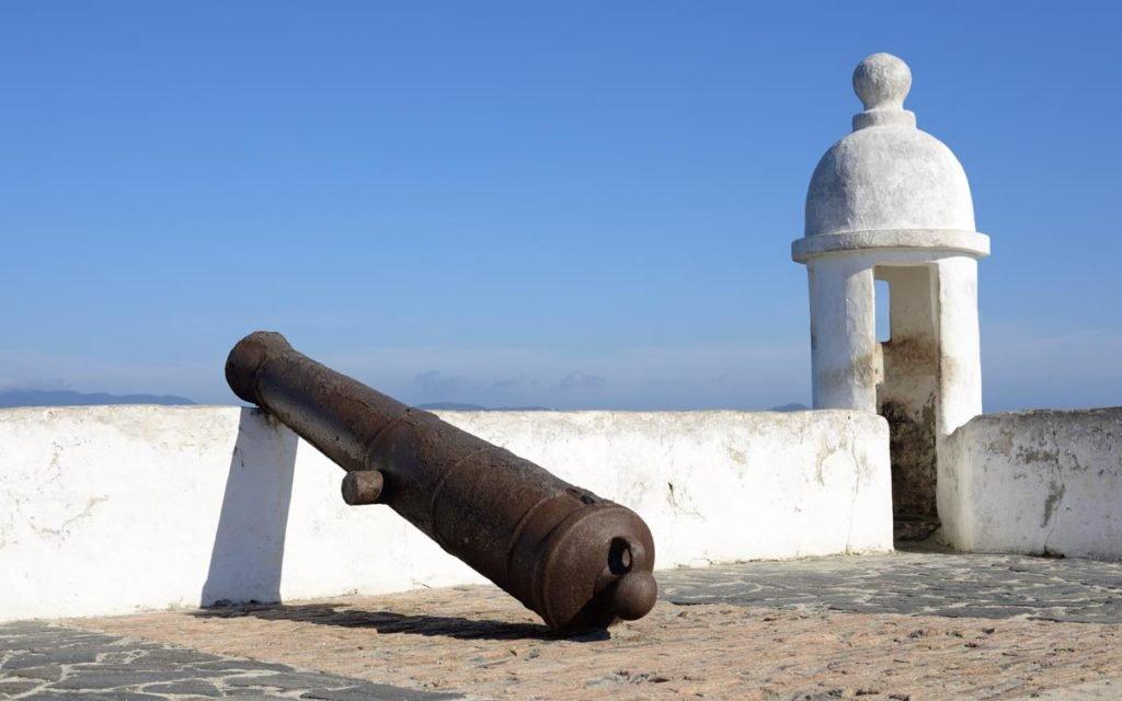 Forte São Mateus em Cabo Frio