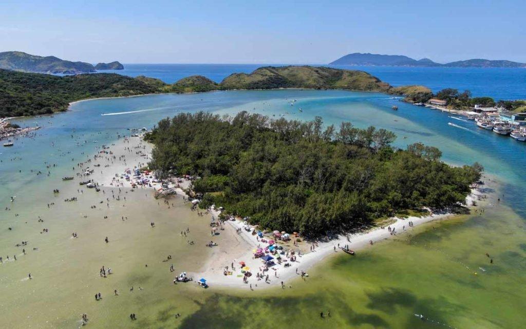 Ilha do Japonês em Cabo Frio