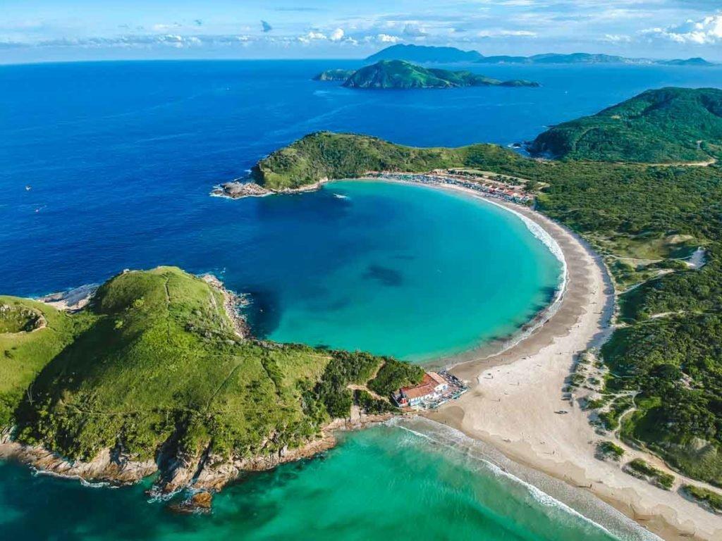 Praia das Conchas em Cabo Frio