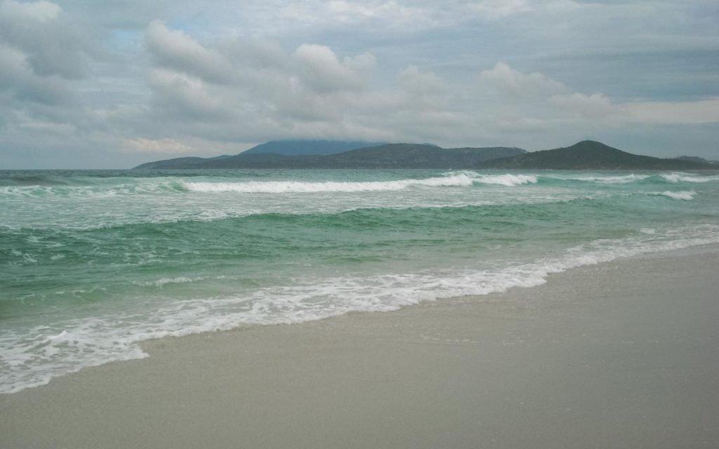 Praia do Foguete em Cabo Frio
