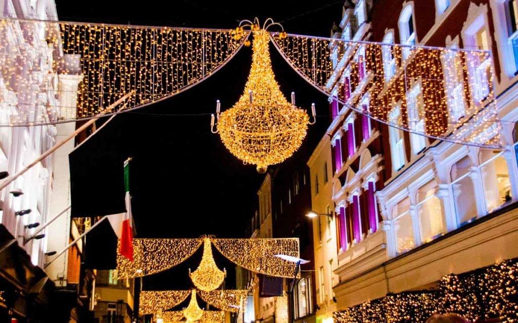 Grafton street em Dublin
