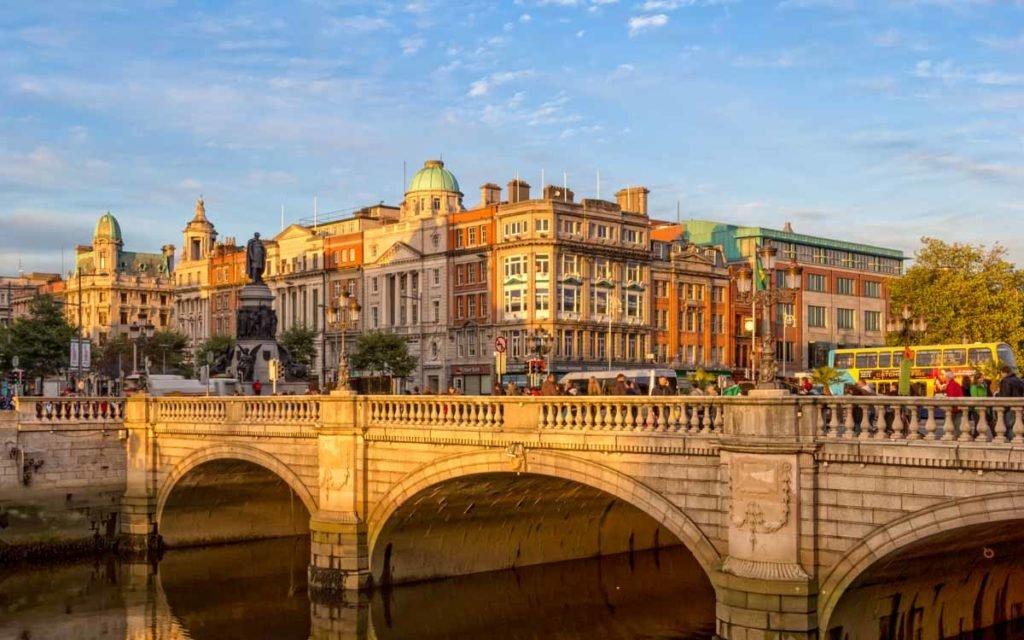 O'Connell Street em Dublin